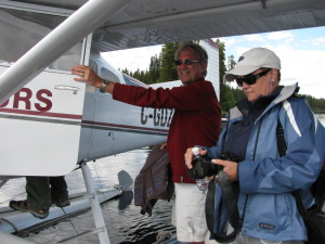 Float plane fly fishing with Rodney's Reel Outdoors