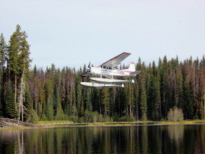 Float plane fishing trip with Kelowna fishing