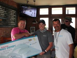 Kelowna fishing derby winner