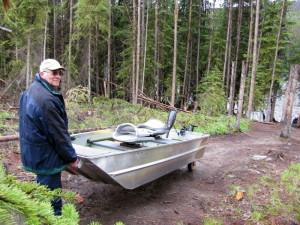 Rodney's reel outdoors 10 foot fishing boat